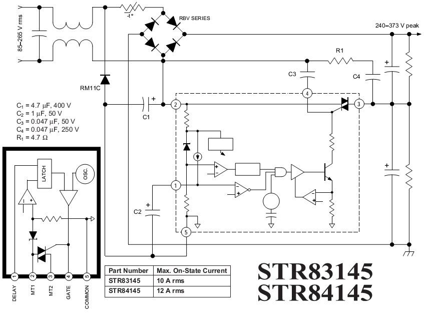 STR83145 PDF