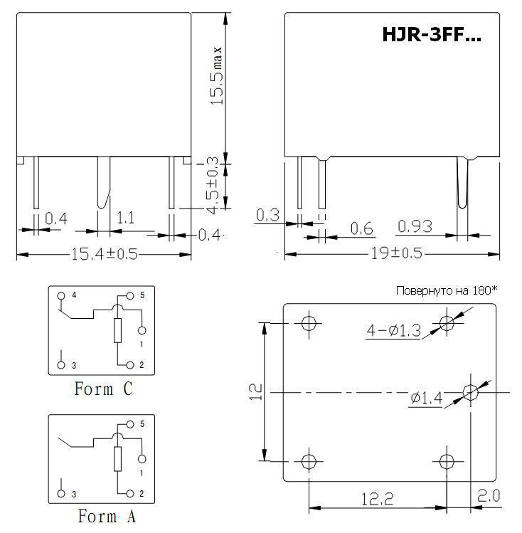 Resultado de imagem para HJR-3FF-S-Z